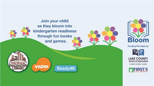 Join your child as they bloom into kindergarten readiness logo