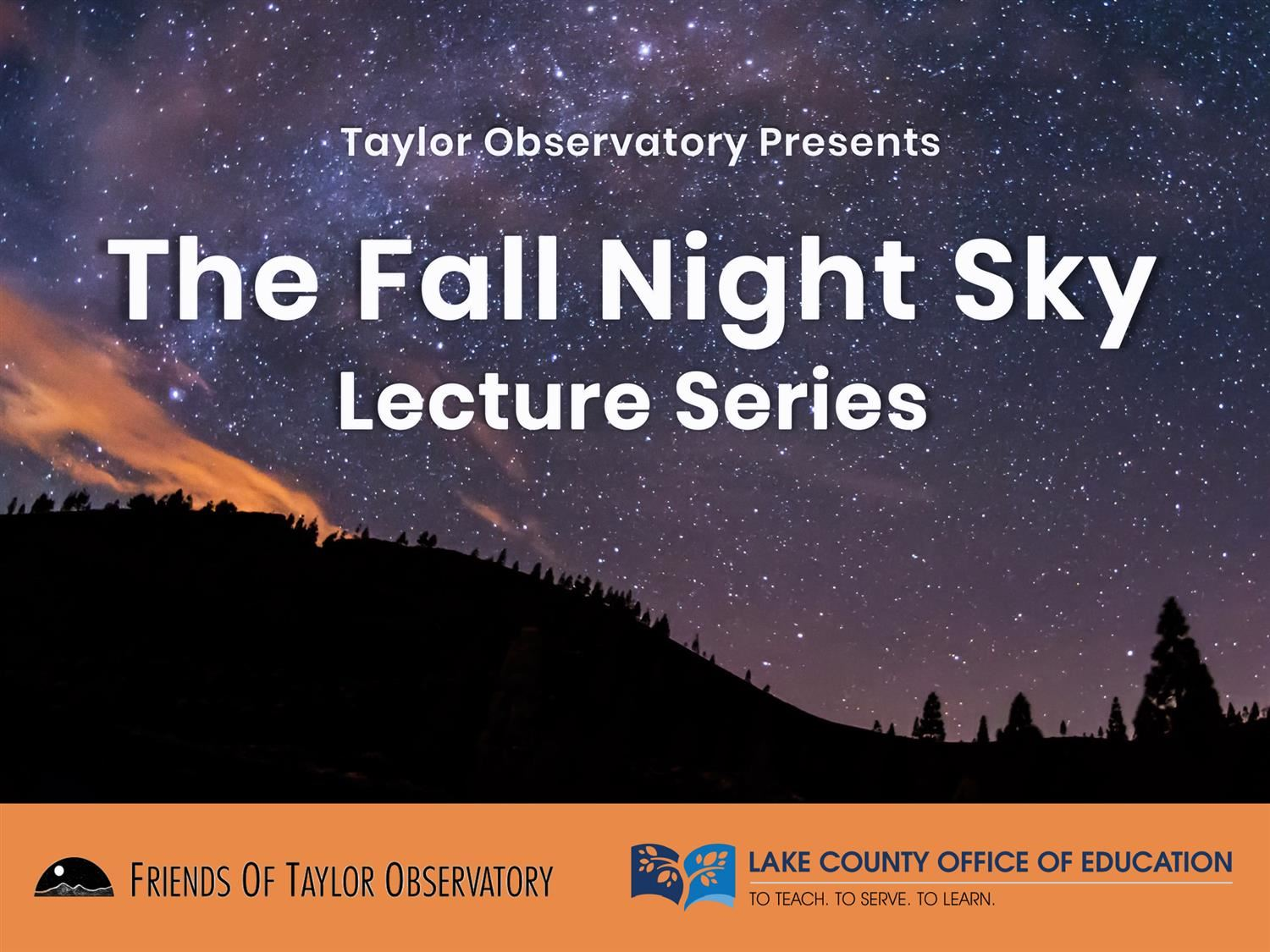 Fall Night Sky Series