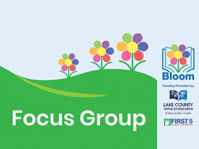 Bloom focus group graphic