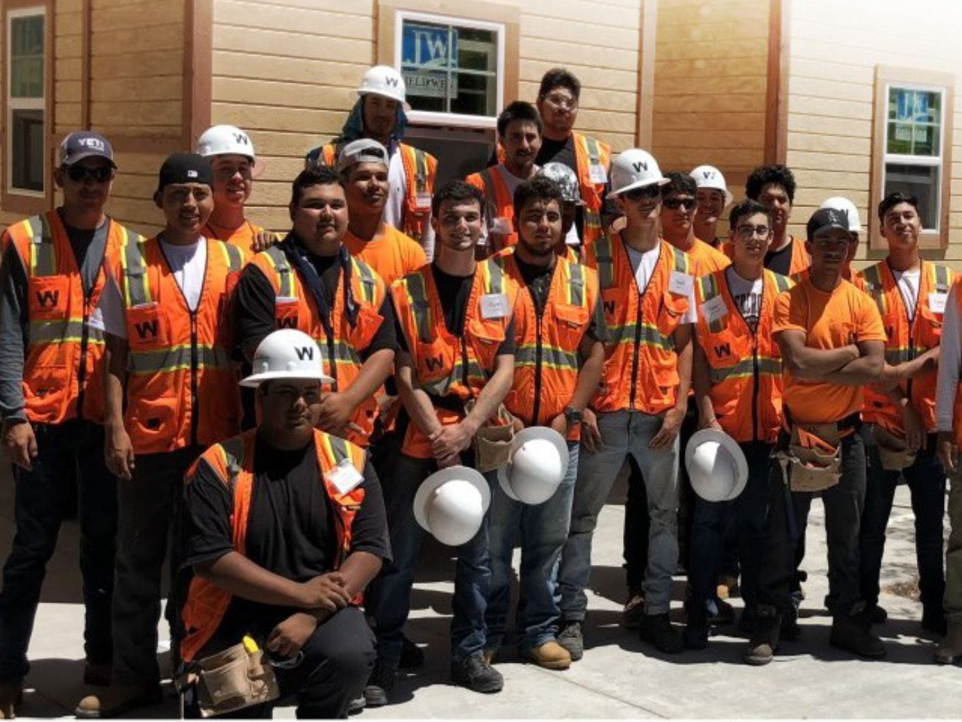 Construction Corps Students